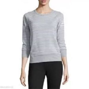 Standard James Perse Gray/white sweatshirt, size 2